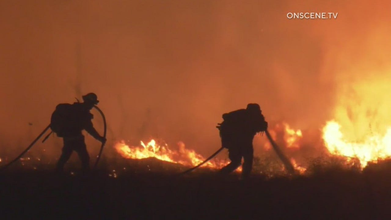 Cal Fire: Wind-driven fire in Riverside County prompts mandatory...