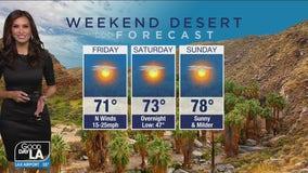 Desert Forecast for Dec. 18-20