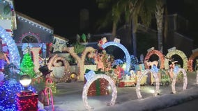 Holiday Lights in South Fontana