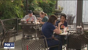 Some Inland Empire restaurants remain open for outdoor dining in defiance of state's order