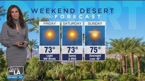 Weekend desert forecast for December 4 - 6