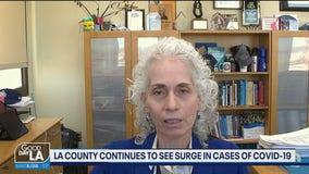Dr. Barbara Ferrer discusses data she says points to restaurants spreading the virus