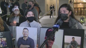 Critics and family torn by violence hold a 'Recall George Gascón' vigil