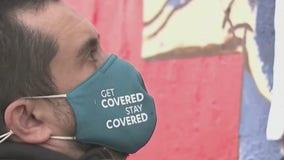 Street artist honors frontline medical staff