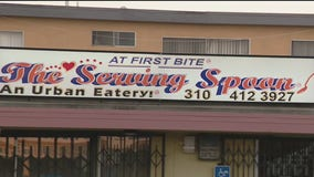The Serving Spoon restaurant in Inglewood struggling during pandemic; asks for help