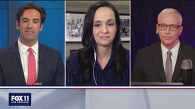 FOX 11's Elex Michaelson and Dr. Drew Pinsky talk with Jessica Millan Patterson