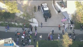 Dr. Barbara Ferrer responds after dozens protest outside of home of LA County's public health director