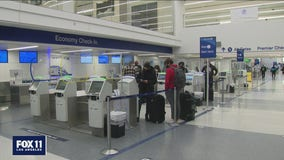 Despite pleas from health officials LAX reports uptick in holiday travel; ramps up safety measures