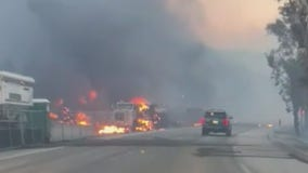 Smoke Advisory issued amid Bond, Airport fires