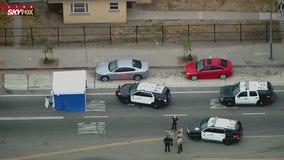 Authorities investigating fatal crash involving LASD deputy, pedestrian