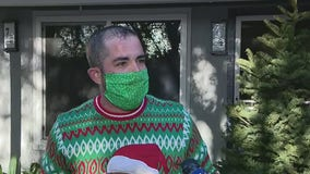 Orange County man delivers Christmas trees to struggling families