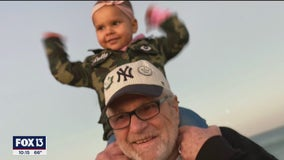 Man sentenced to 90 years for non-violent drug offense released, meets grandchildren