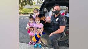 Holiday Heroes: LAPD officer gives back to community during pandemic