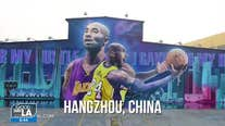 Remembering Kobe through art