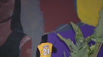 Lawndale Mayor wishes mural offering Kobe and Gigi Bryant stayed longer