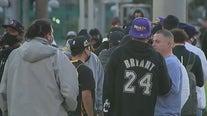 One Year Later: Fans honor Kobe Bryant at local murals, impromptu memorials