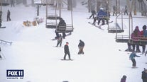 Folks head to local ski resorts to enjoy fresh snow