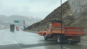 Winter storm hits SoCal, grapevine closed to traffic