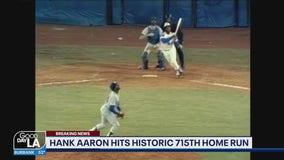 Vin Scully calls Hank Aaron's historic 715th home run