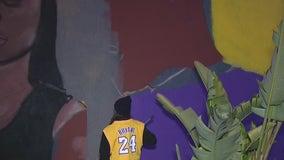 Lawndale mayor responds to backlash on mural honoring Kobe, Gigi Bryant