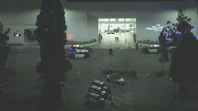 Heavy police presence at the Del Amo Fashion Center in Torrance