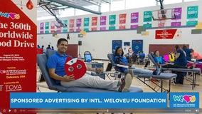 SPONSORED ADVERTISING by INTL. WELOVEU FOUNDATION: Safe blood drive on Sunday, Jan 17