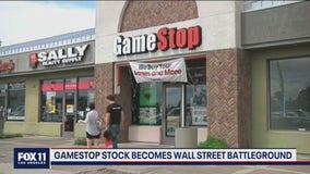 Gamestop stock becomes Wall Street battleground