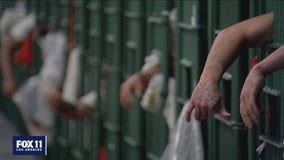 Federal inmates being vaccinated at 31 federal facilities across the country, including Los Angeles