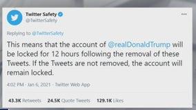 Twitter, Facebook muzzle President Trump amid deadly D.C. riots