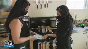 Two Latina moms take advantage of staying home by creating booming business