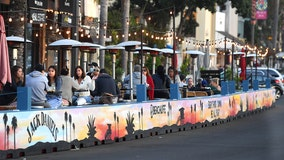 Outdoor dining in Los Angeles County permitted to reopen by end of week, officials announce