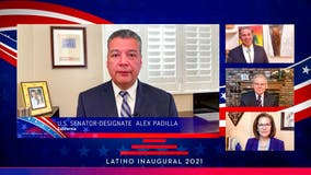 Ex-LA councilman Alex Padilla sworn in as US Senator, replacing Kamala Harris