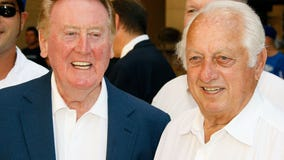 'It's been quite a lot to bear': Vin Scully mourns deaths of wife Sandra, dear friend Tommy Lasorda