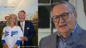 Dodgers' Jaime Jarrín remembers Vin Scully's wife Sandra
