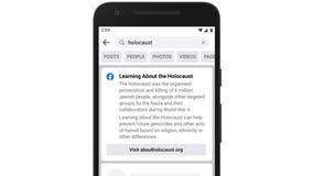 Facebook introduces new fact-check tool to combat Holocaust denial