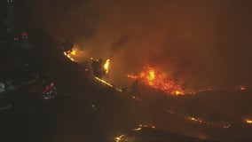 Evacuation orders lifted in 250-acre Erbes Fire