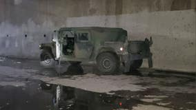 Humvee stolen from military facility in Bell recovered
