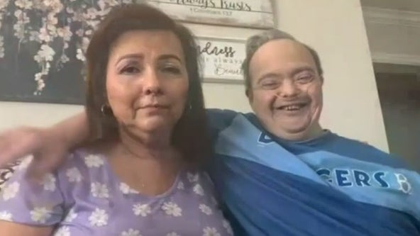 Woman becomes brother's caregiver after COVID-19 death in family