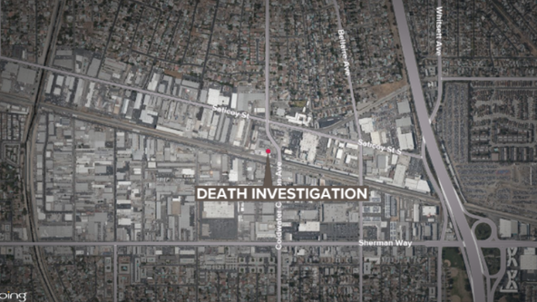 Body found inside burning dumpster in North Hollywood area, firefighters say