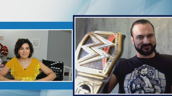 WWE Champ Drew McIntyre talks about Wrestlemania coming to L.A.