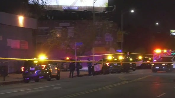 Man armed with a knife fatally shot by police in South LA