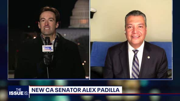 Alex Padilla sworn in as California's new Senator