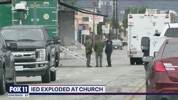 IED explodes at El Monte church