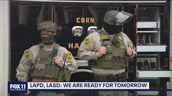 Law enforcement officials urge Angelenos to report suspicious activity ahead of Inauguration Day