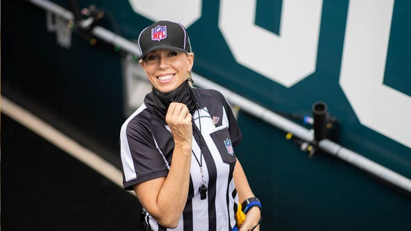 Sarah Thomas to become first female to officiate at Super Bowl
