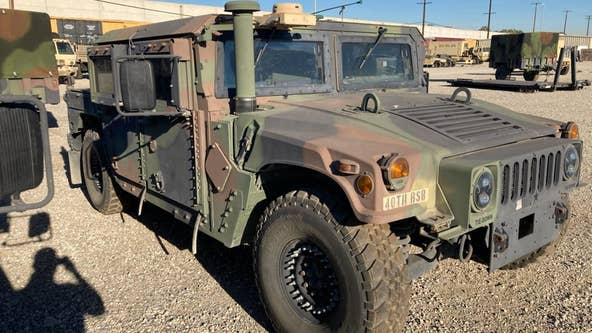 FBI: $10,000 reward for information leading to return of stolen military Humvee