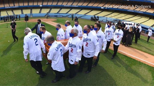 Photos: Tommy Lasorda celebration of life at Dodger Stadium