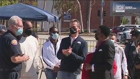 Efforts ramping up to vaccinate Black, Hispanic communities in LA County