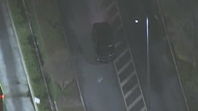 Suspected street racer smashes into another car, leads CHP on chase before ending in Pomona