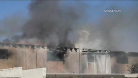 Fire damages Montebello apartments; residents displaced
